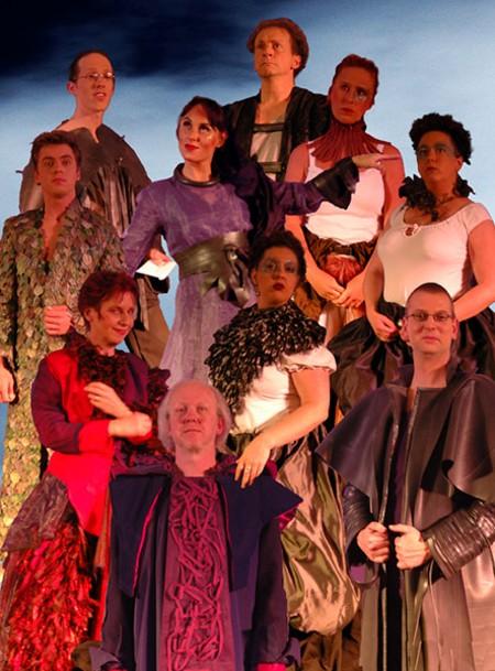De cast van Ongelikt. Foto: Gerdien van Alkemade